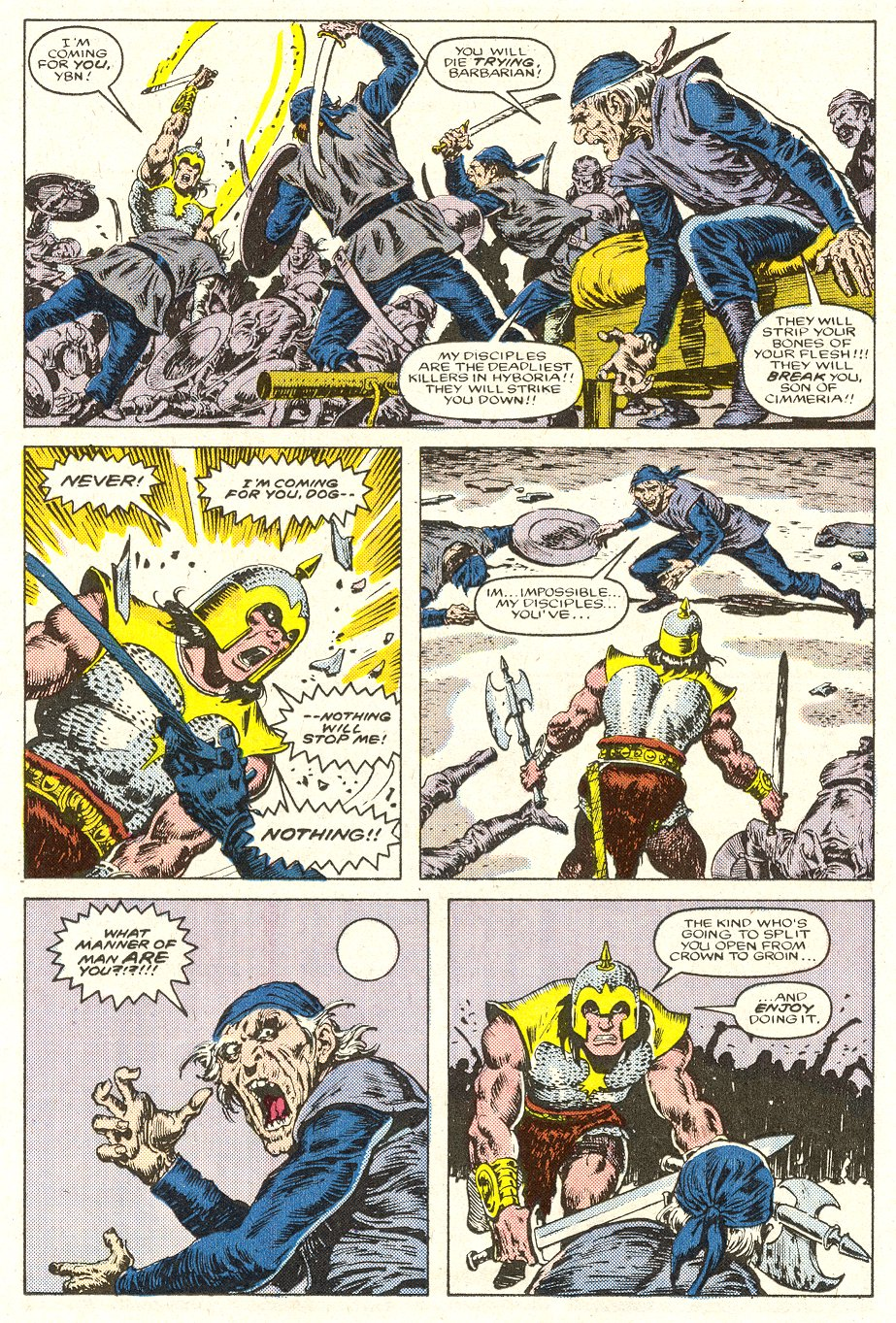 Conan the Barbarian (1970) Issue #188 #200 - English 19