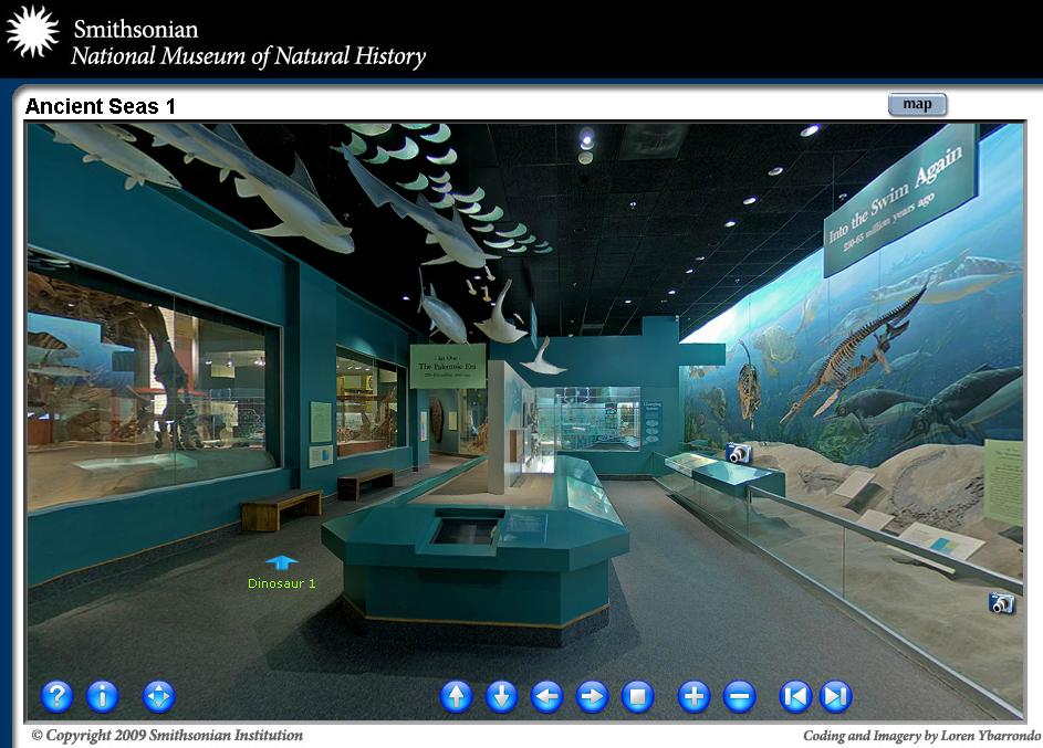 Smithsonian Natural History Virtual Tour