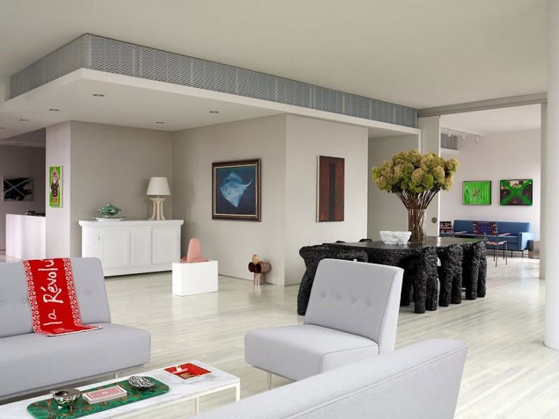 Hogares frescos apartamento moderno casa warren for Apartamentos disenos modernos