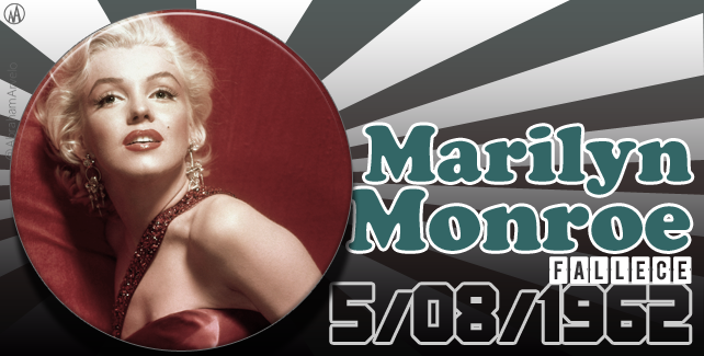 5 de agosto de 1962 fallece Marilyn Monroe, actriz estadounidense. #TaldíacomHoy