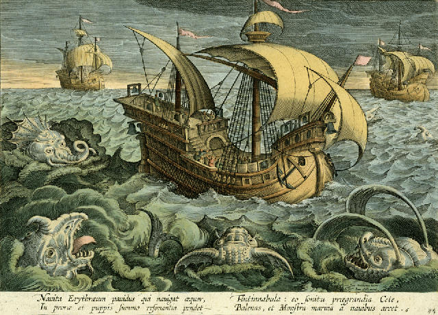 an analysis of the book about a sea monster that has been sinking ships Captain jack sparrow is a fictional pirate and one of the  back at sea, the pearl encounters davy jones who has come to  although will has been.