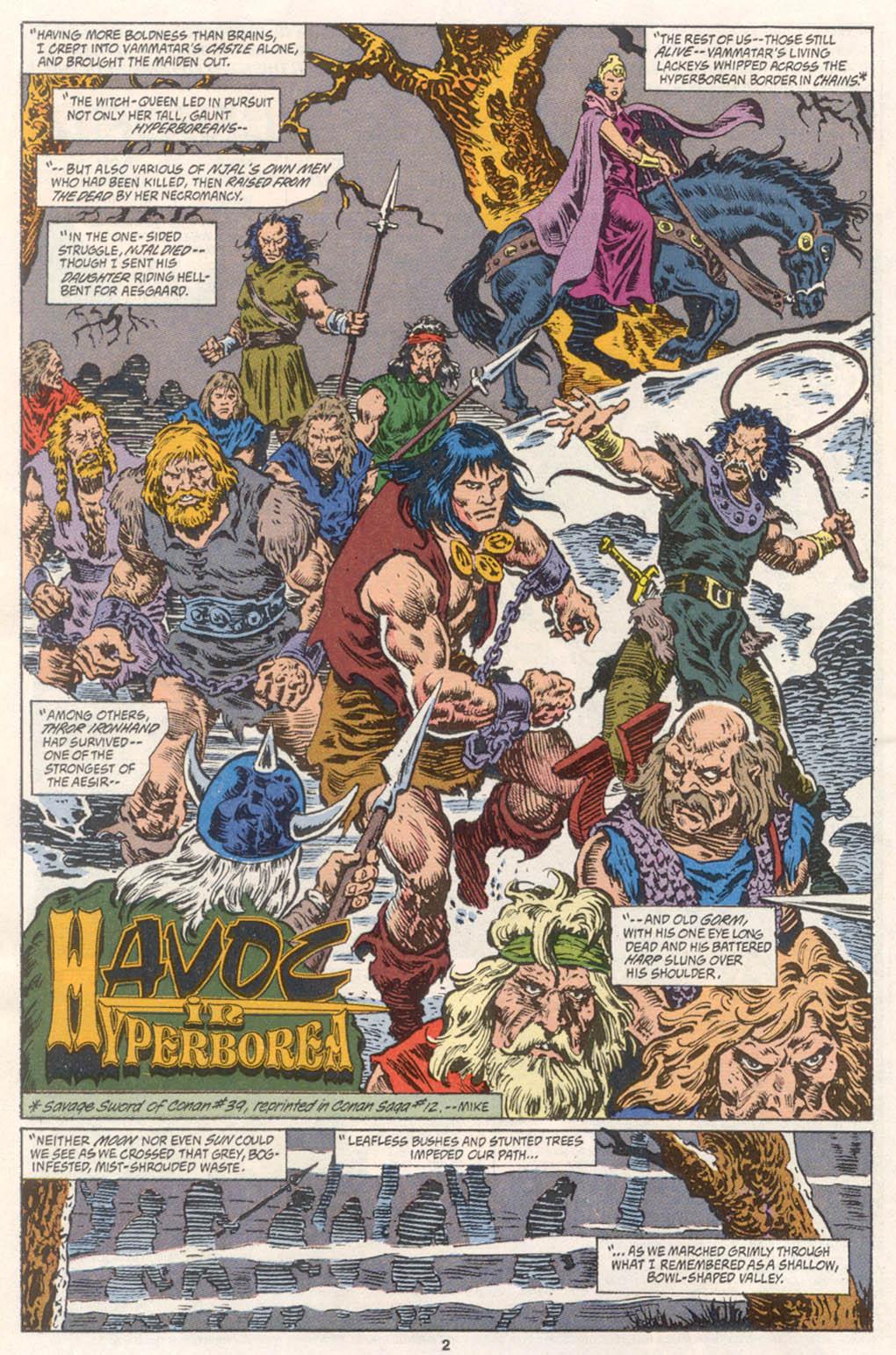 Conan the Barbarian (1970) Issue #254 #266 - English 3