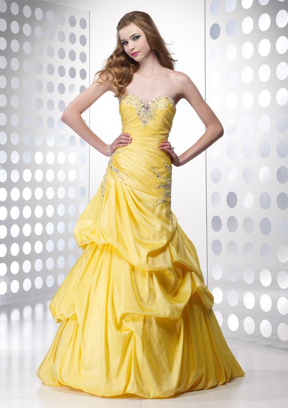 Bridal Dresses Yellow Prom Dresses 2011