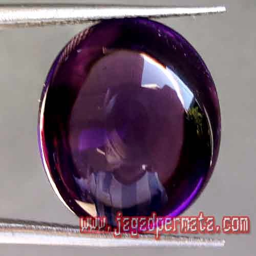Batu Permata Natural Purple Obsidian