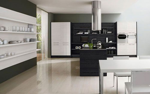 Kitchen with Simple and Minimalist Design