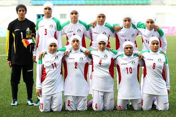 Iran women football team has 8 men players waiting for gender change.