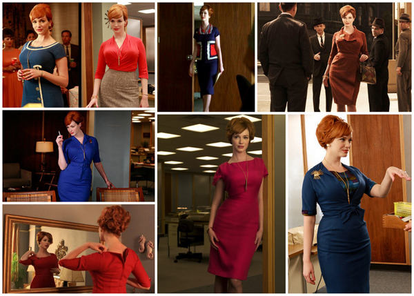 Joan Holloway's style