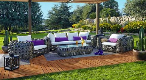Decoraci n de jardines modernos decoraci n de interiores for Muebles jardin modernos