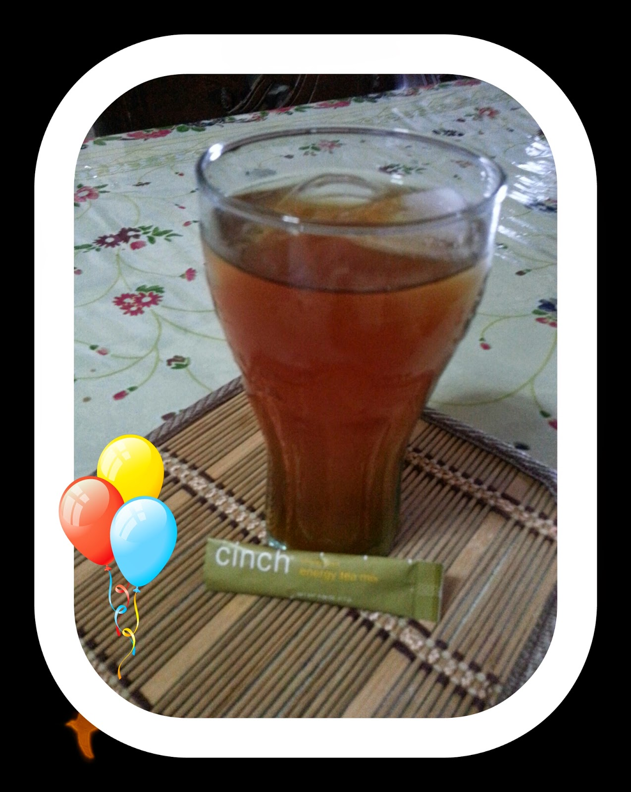 Cara Minum Cinch Energy Tea Mix