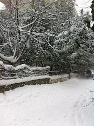 sokağımızda kar...