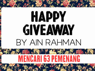 Simple Giveaway By Ain Rahman