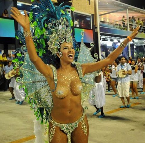 Rio Carnival Parades (2013) at the Sambadrome