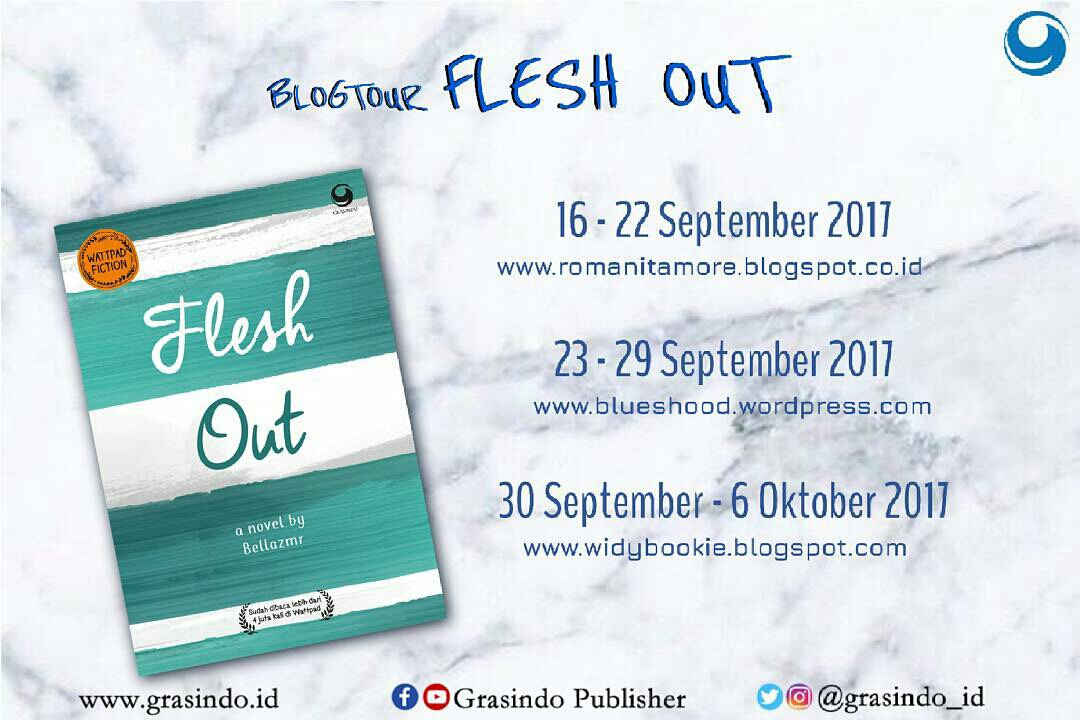 Blogtour Flesh Out
