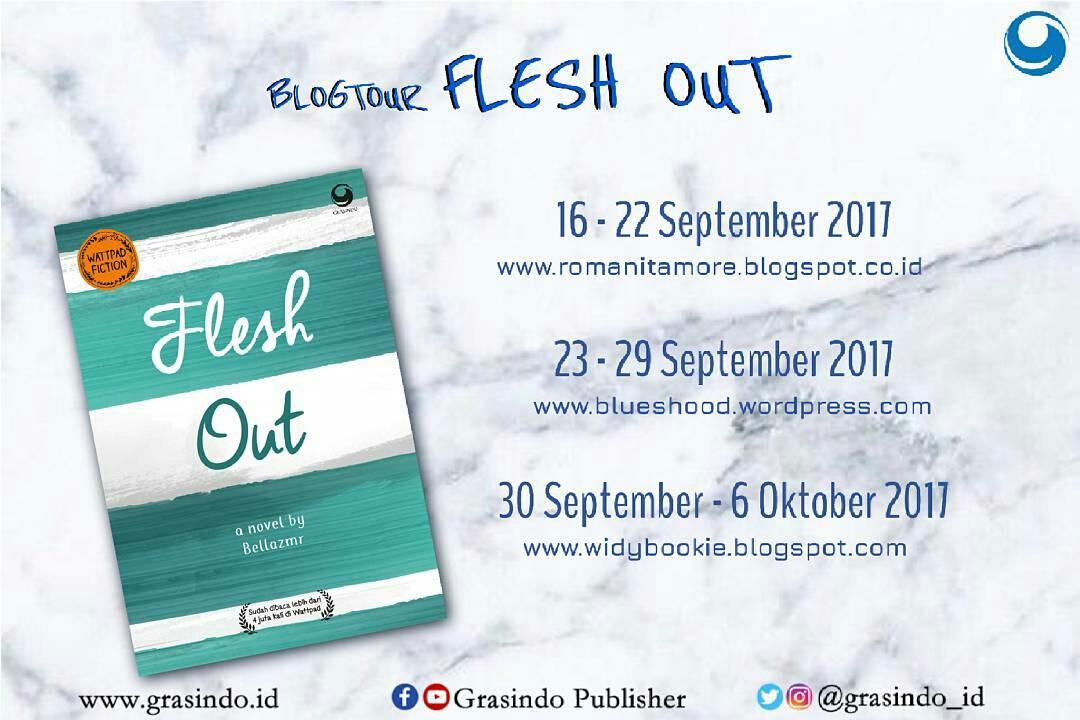 Blogtour Flesh Out
