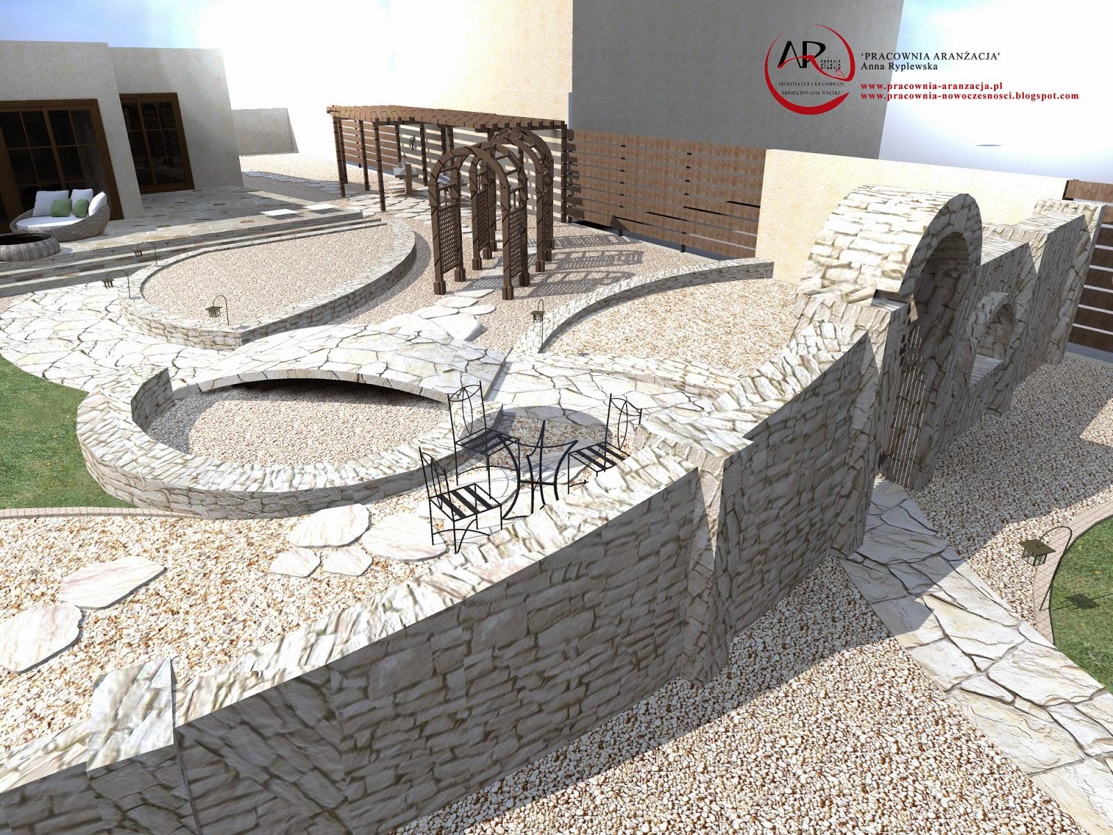 mur z wapienia