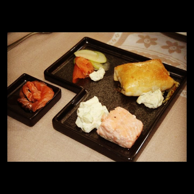receta de salmón en texturas
