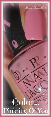 OPI Breast Cancer  Pink-ing of you nail color by barbies beauty bits