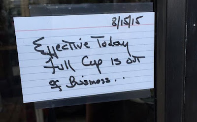 Tomorrow S News Today Atlanta Full Cup Now Empty In