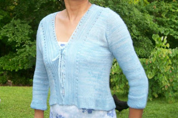 Knitted Feather Weight Cardigan