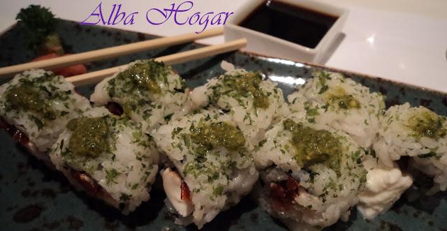 sushi alga para dentro con esto alba hogar