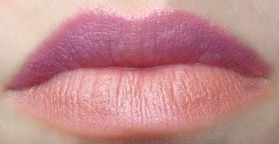 Szminka Usta w Pełni Avon - 2 nowe kolory Lilac Shimmer i Beige Nude / Avon Plump Poutefekt / effect