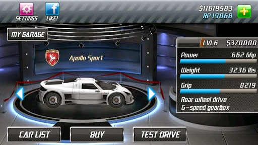 Free Download (Apk) Game Drag Racing for Android