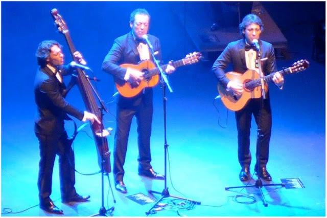 Café Quijano en concierto el 23 de enero de 2016 en el Teatro de la Laboral en Gijon