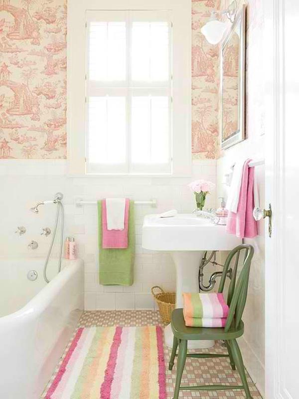55 ideias para banheiros pequenos assuntos criativos for Pretty small bathroom ideas
