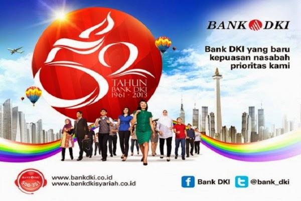 PT BANK DKI : PIMPINAN CABANG, ADM, CUSTOMER SERVICE, ANALYST CREDIT, DAN TELLER - JAKARTA, JAWA