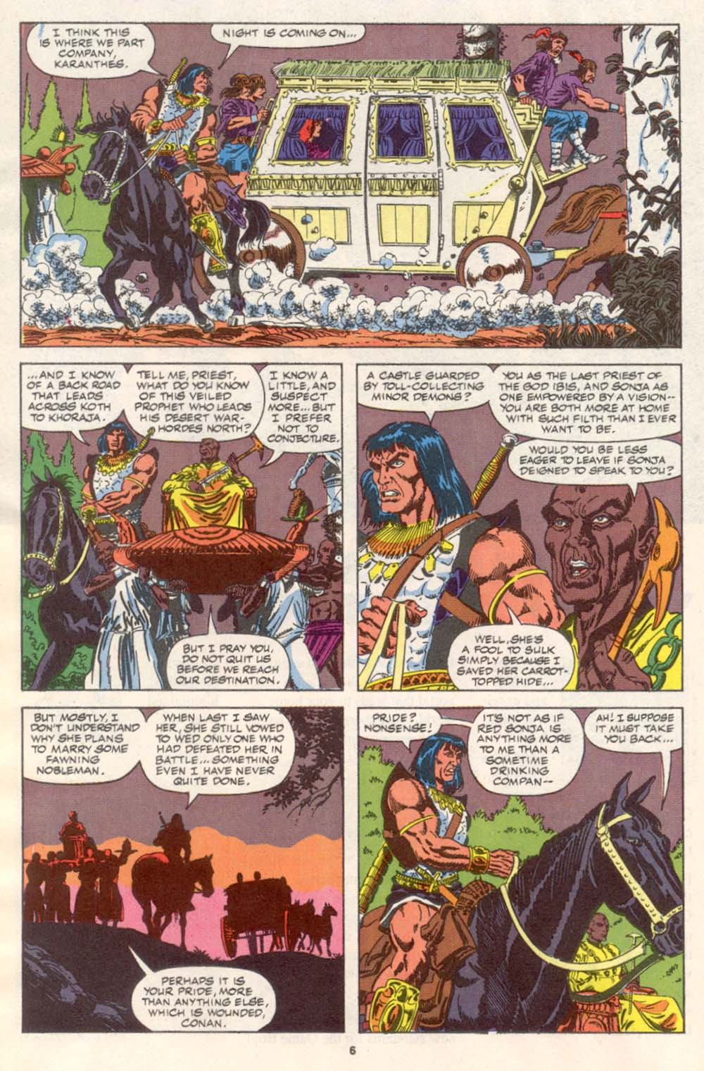 Conan the Barbarian (1970) Issue #242 #254 - English 6