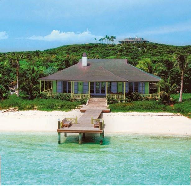 Bahamas Beach House: DAVID COPPERFIELD'S MUSHA CAY, BAHAMAS