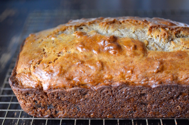 Vegan chocolate chip banana bread always order dessert the tiny bit of acid to help with the rising can be swapped for lemon juice or any kind of plain vinegar apple cider white wine etc forumfinder Image collections