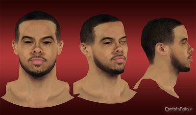 NBA 2K13 D. J. Augustin Cyberface Mod
