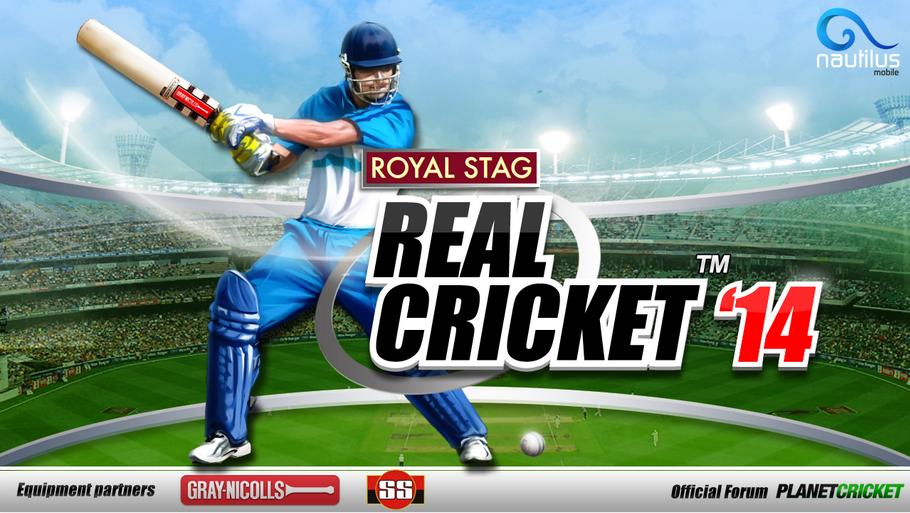 Real Cricket ™ 14 v2.0.5 Modded Apk + Data