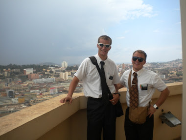 With Elder Welch. First Companion