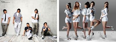 Boys and Girls band Korea
