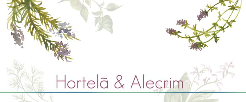 Hortelã e Alecrim