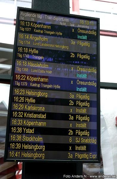 inställt tåg, inställda tåg, stopp i tågtrafiken