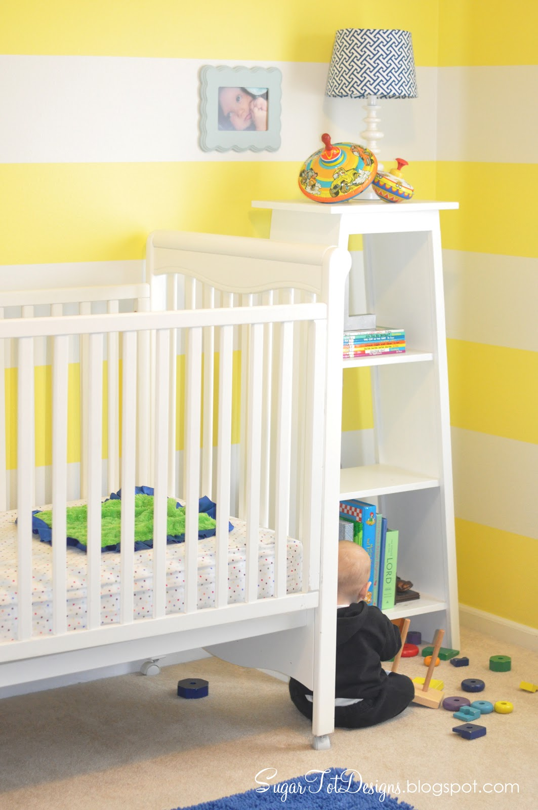 sugartotdesigns: Yellow Striped Nursery ***UPDATE***