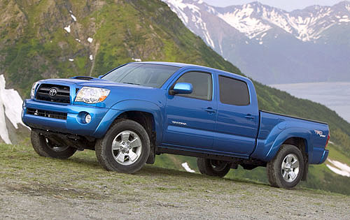 2012 Toyota Tacoma Side Stylish Exterior Design