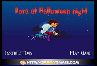 Dora At Halloween Night