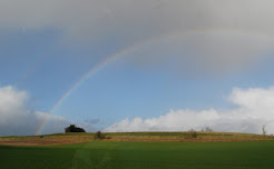 landscape and rainbow, November