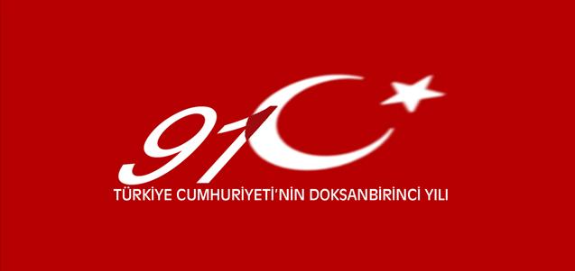 Türkiye Cumhuriyeti'nin 91. Yılı
