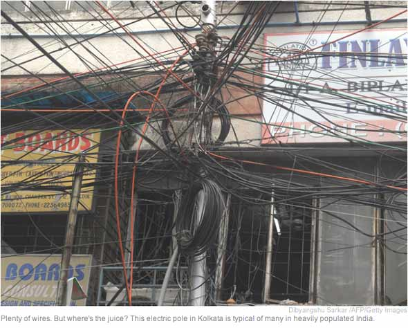 india power outage the shape of things to come the automatic earth rh theautomaticearth com electrical wiring system in india India Phone Lines