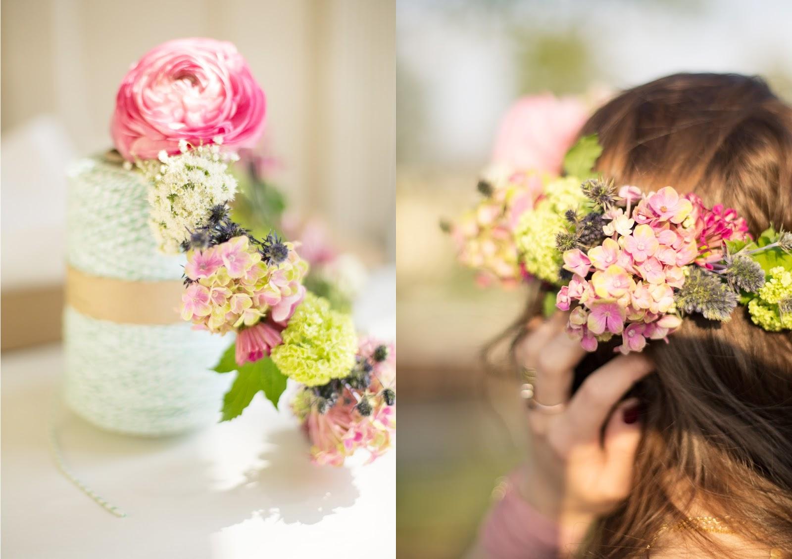 Blumenkranz Flower Crown DIY