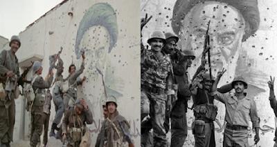 الذكرى السابعة والعشرين للنصر العظيم على إيران الشر وتعتيم الحكومة الصفوية