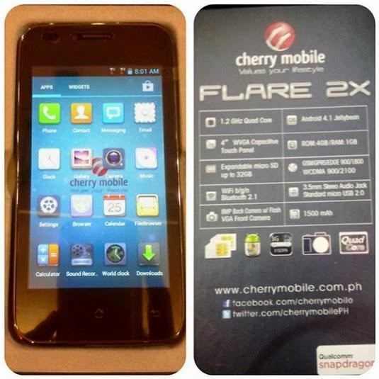 Cherry Mobile Flare 2X, Cherry Mobile Flare 2X Price, Cherry Mobile Flare 2X Specs