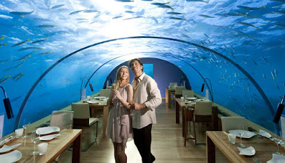 Ithaa Undersea Restaurant of Conrad Maldives ranked 1st among world's most incredible underwater restaurants