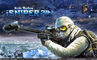 Screenshots of the iSniper 3D Arctic Warfare for Android tablet, phone.