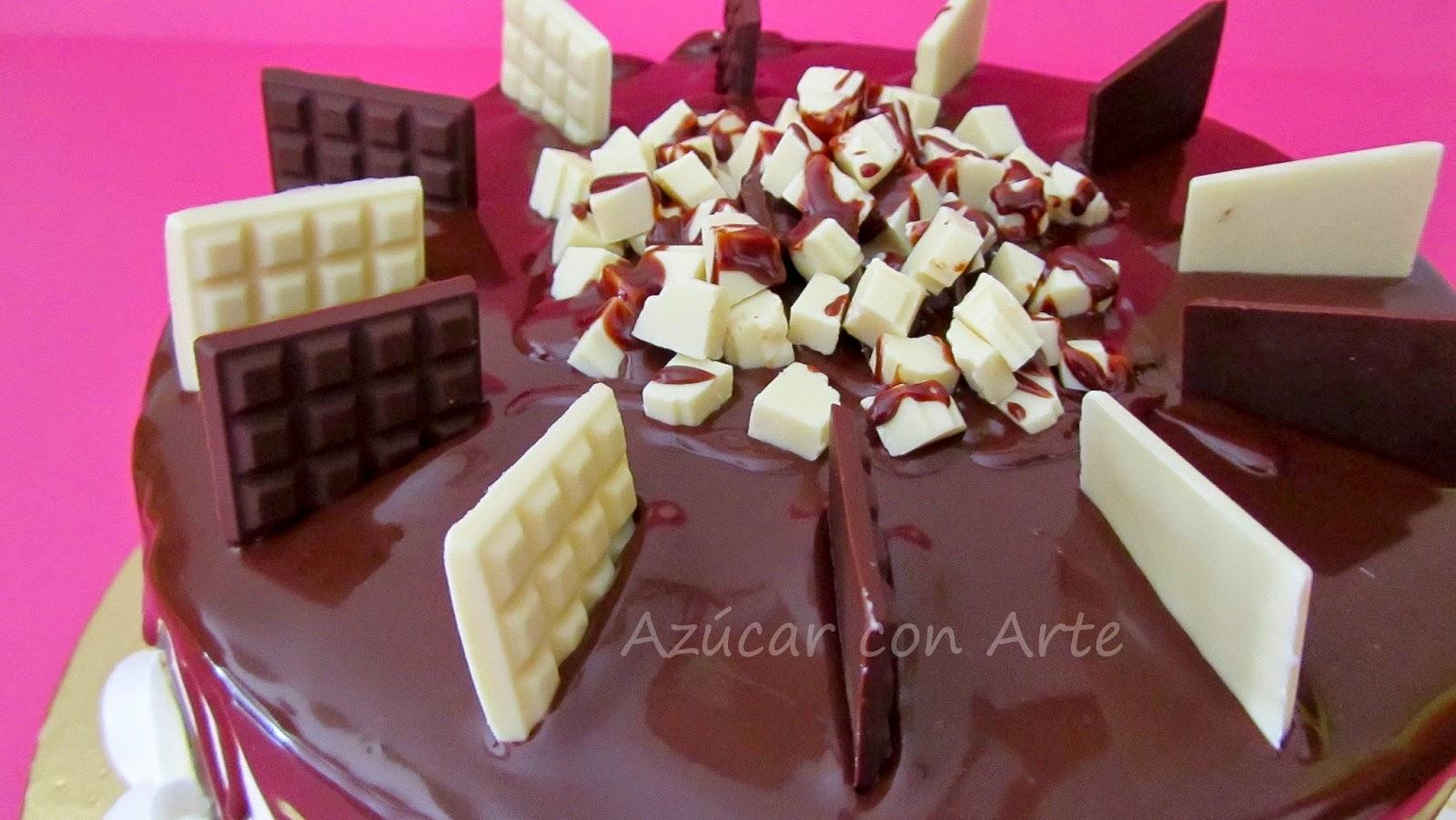 tarta de chocolate, tarta de nata chocolate cake, tarta sin gluten, gluten free cake azucar con arte